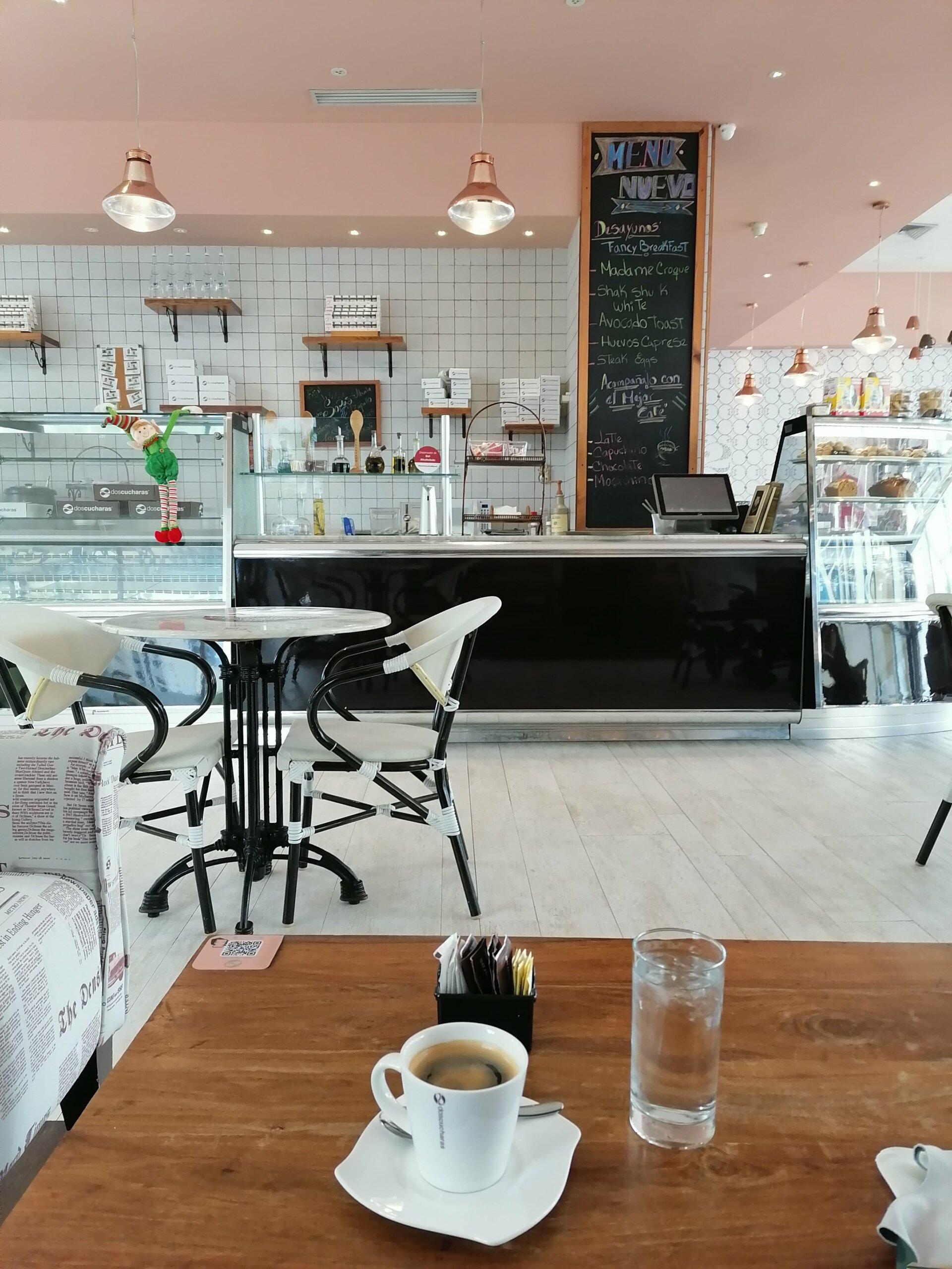 coffee shop dos cucharas costa del este panama
